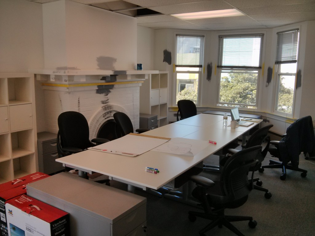 Setting up an open-space engineering room